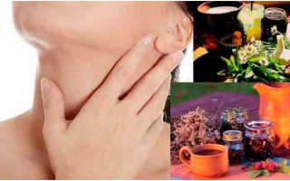 Рецепты с мёдом для лечения щитовидки