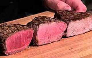 Степени прожарки мяса – стейк с кровью, виды прожарки, фото, видео