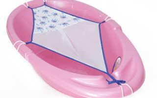Гамак для купания новорожденных в ванночку, как сшить своими руками, видео